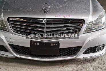 Mercedes Benz c class w204 halfcut 200 cgi turbo halfcut ckd