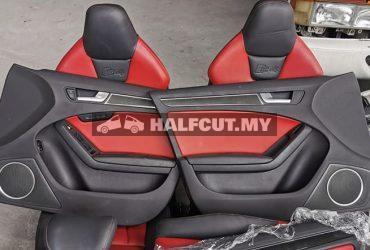 Audi A4 s line seat set,door panel set