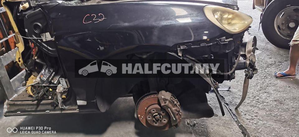 Porsche Cayenne 957 3.6 halfcut ckd,17z caliper