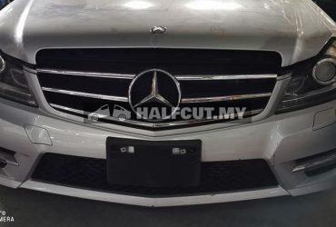 Mercedes Benz W204 cgi halfcut ckd, AMG body kits