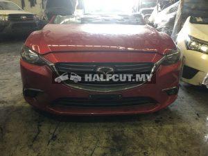 MAZDA 6 2015 SKYACTIVE 2.5 PY FRONT CUT HALFCUT