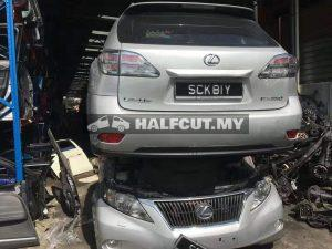 LEXUS RX350 FRONT CUT AND REAR CUT