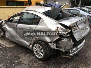 PROTON PREVE TURBO HALFCUT AND REAR CUT