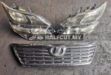 Toyota Vellfire ANH20 head lamp 58-23 & grille for sales