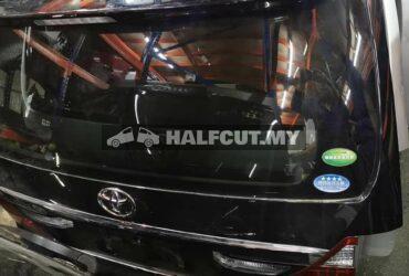 Toyota Alphard ANH20 rear body parts halfcut