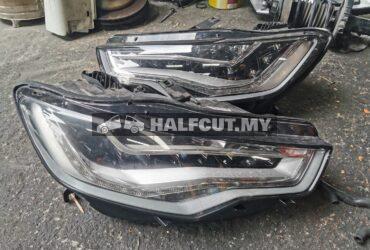 Audi A6 c7 headlight headlamp