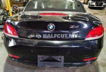 Bmw Z4 N54 halfcut twin power turbo engine, dual gear box, rear cut complete