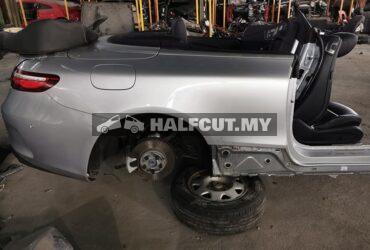 Mercedes benz A238 E300 cabriolet rear cut, amg body kits