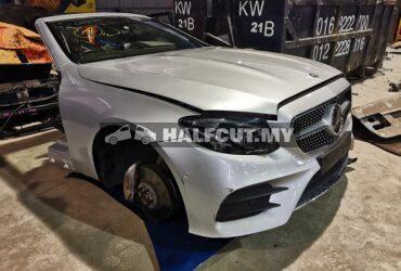 Mercedes benz halfcut A238 E300 cabriolet front cut, rear cut