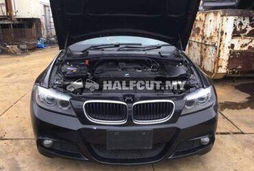 BMW E90 M SPORT WAGON FRONT CUT HALFCUT NOSE CUT