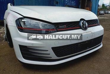 VOLKSWAGEN VW GOLF GTI MK7 2.0CC HALFCUT NOSECUT FRONTCUT