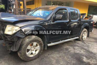 NISSAN NAVARA D40 (YD25 MT 4WD) FRONT CUT AND REAR CUT