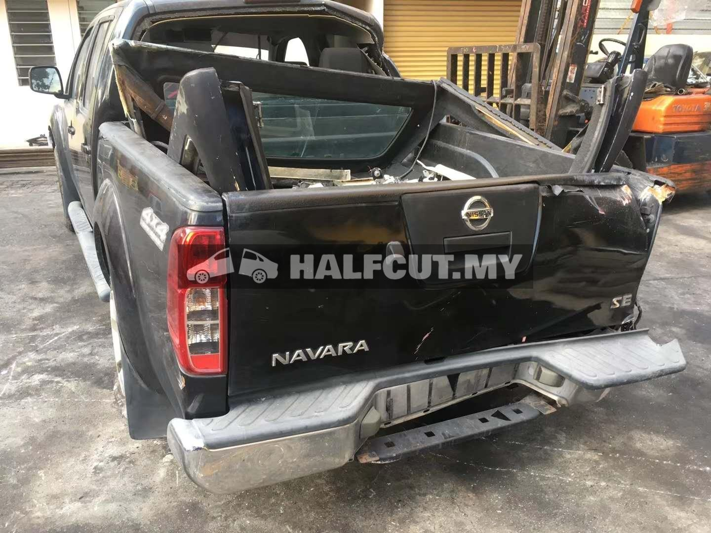 NISSAN NAVARA D40 (YD25 MT 4WD) FRONT CUT AND REAR CUT