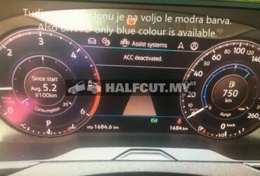 VOLKWASGEN PASSAT B8 LCD METER