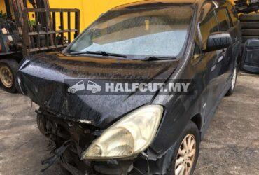 TOYOTA INNOVA FRONT CUT AND REAR CUT