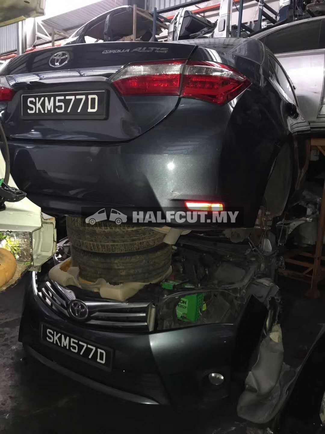 TOYOTA ALTIS 172 1.6CC 1ZR FRONT CUT AND REAR CUT