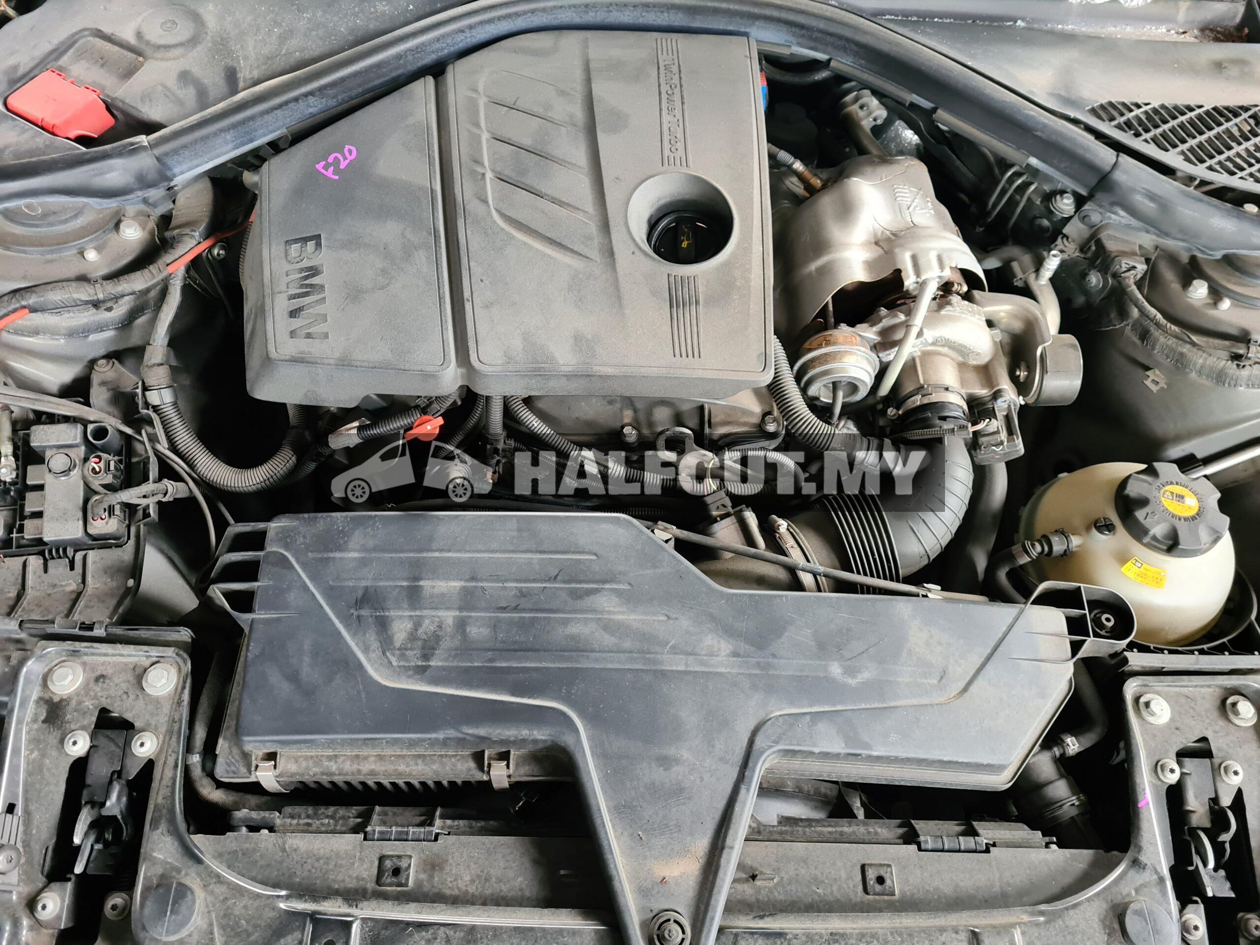 BMW F20 half cut