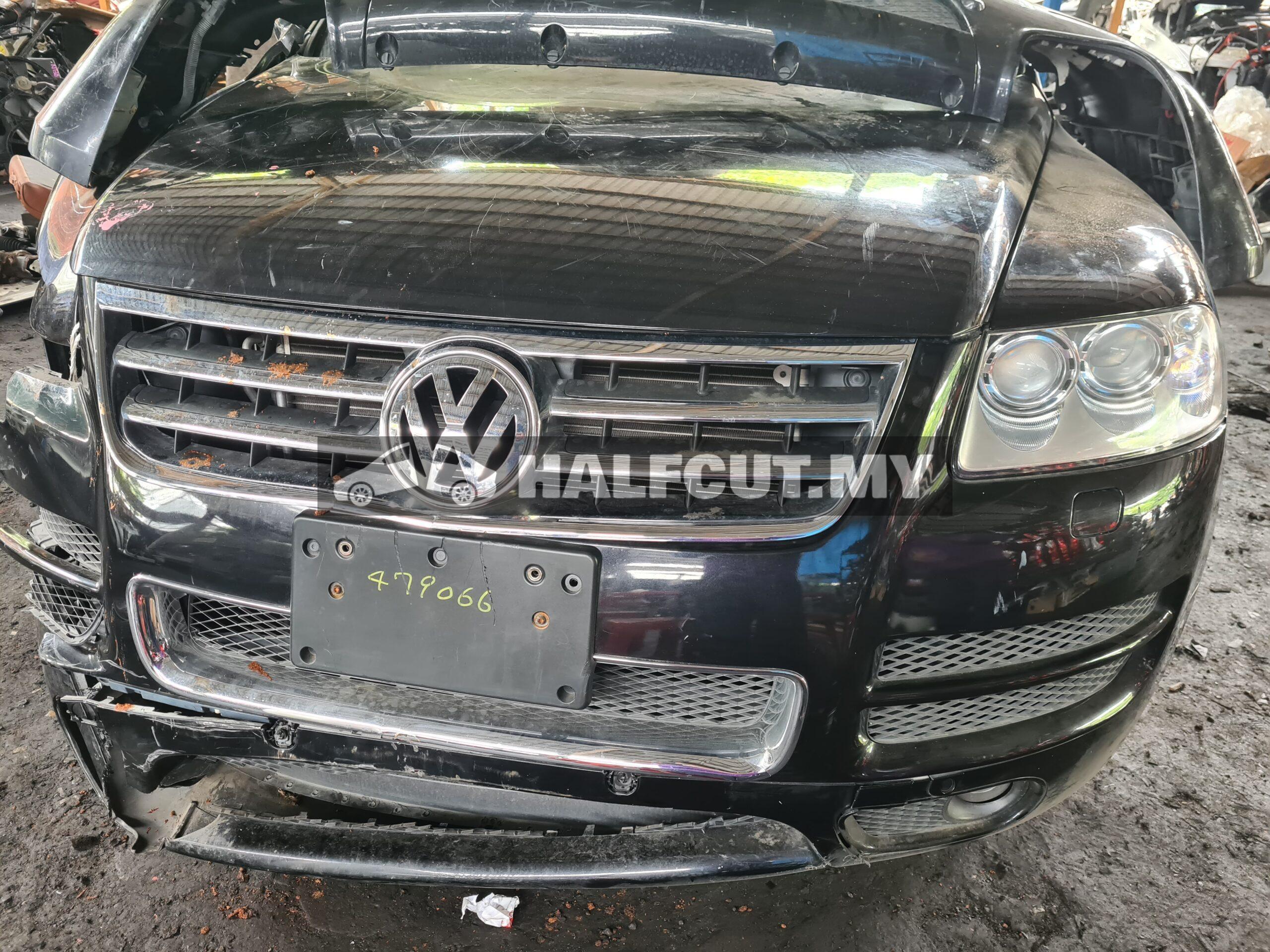 VW touareg 3.2 halfcut