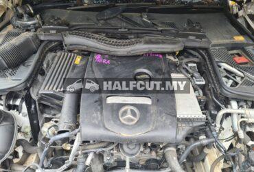M/Benz w205 halfcut