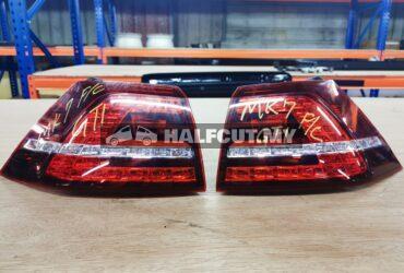 MK7 GTI tail lamp & reflector set