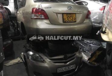 TOYOTA VIOS NCP93 AUTO FRONT CUT AND REAR CUT