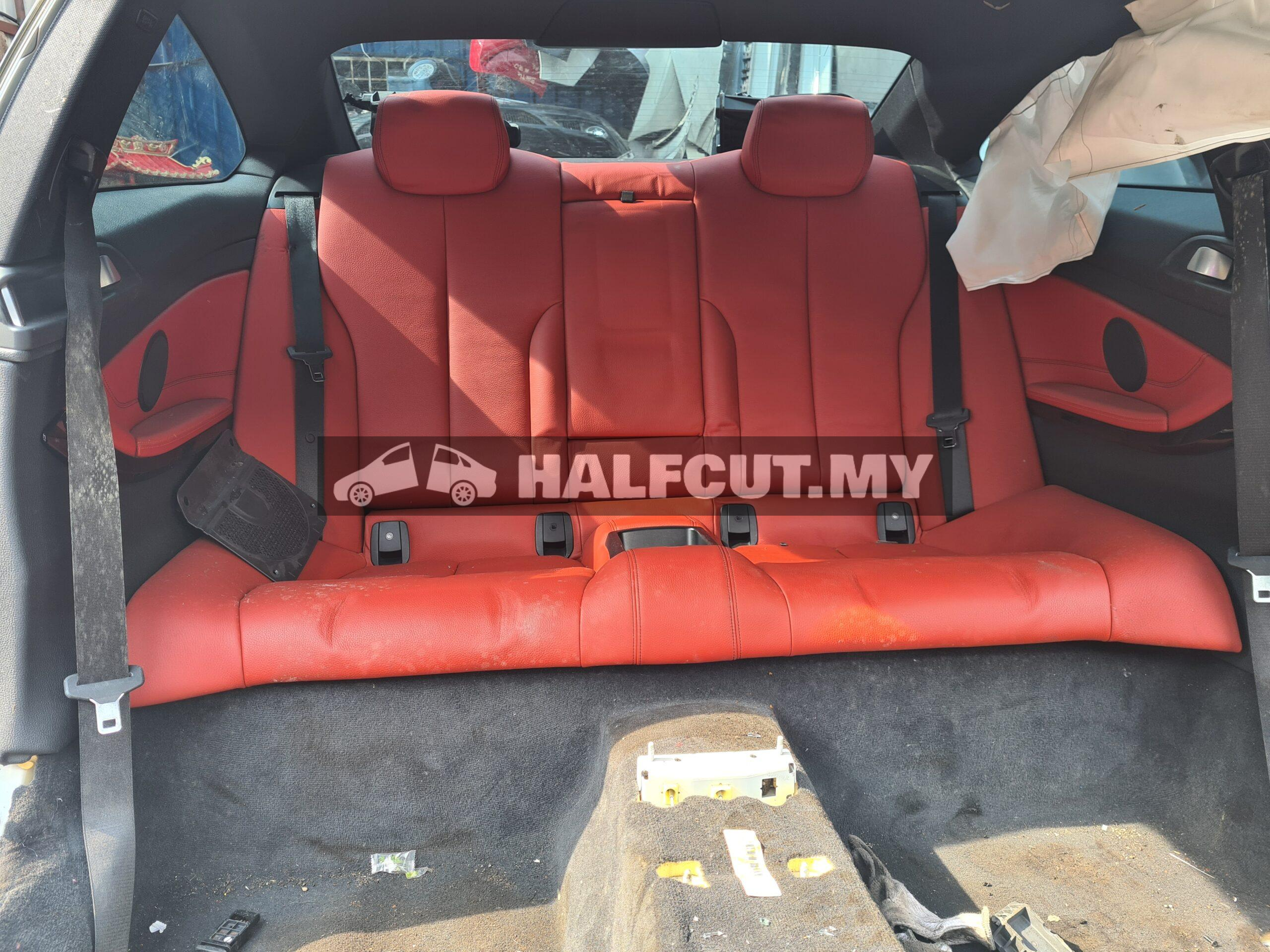 Bmw F32 4series M-sport interior