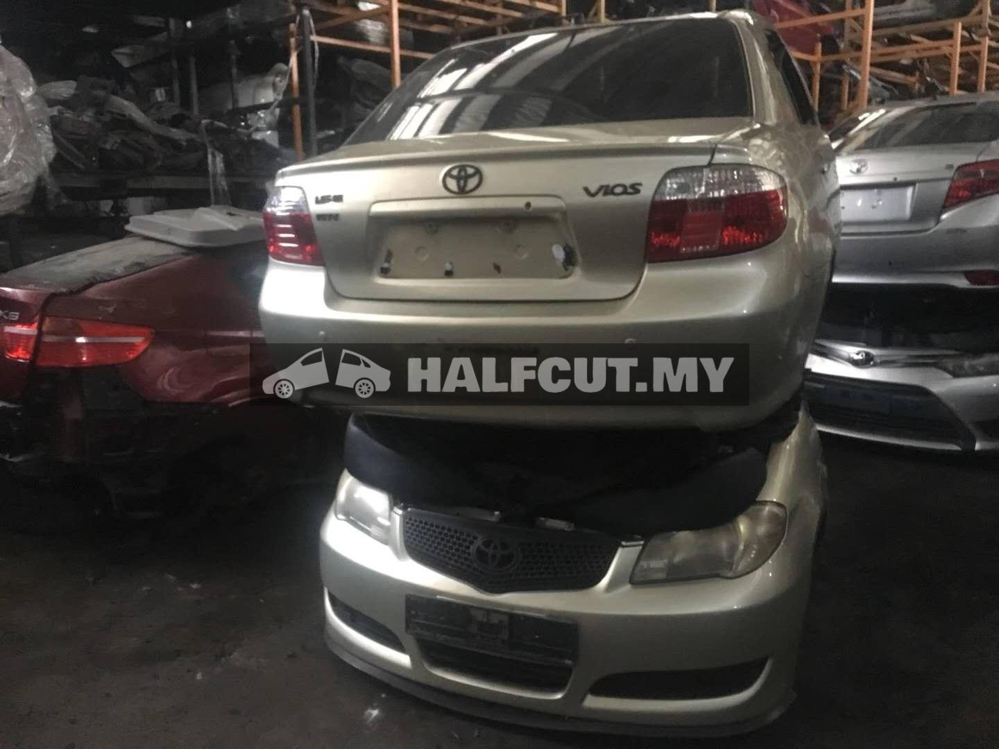 TOYOTA VIOS NCP42 FRONT CUT AND REAR CUT