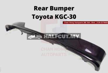 Rear Bumper Toyota KGC-30
