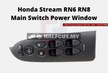Honda Stream RN6 RN8 Main Switch Power Window