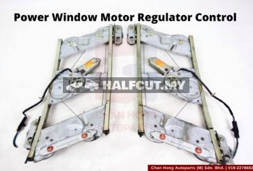 Power Window Motor Regulator Control