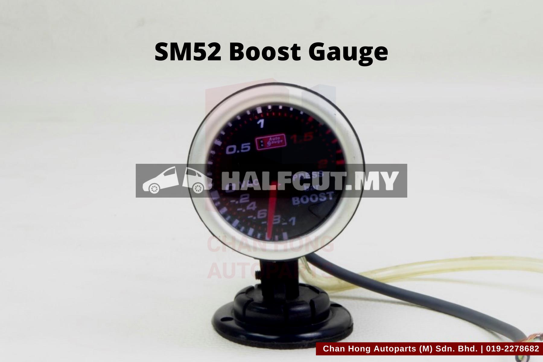 SM52 Boost Gauge