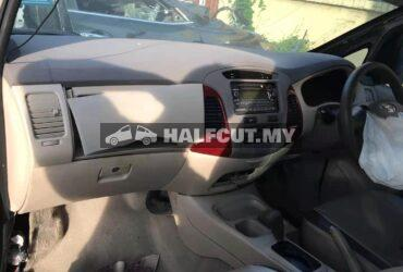 TOYOTA INNOVA AUTO FRONT CUT AND REAR CUT