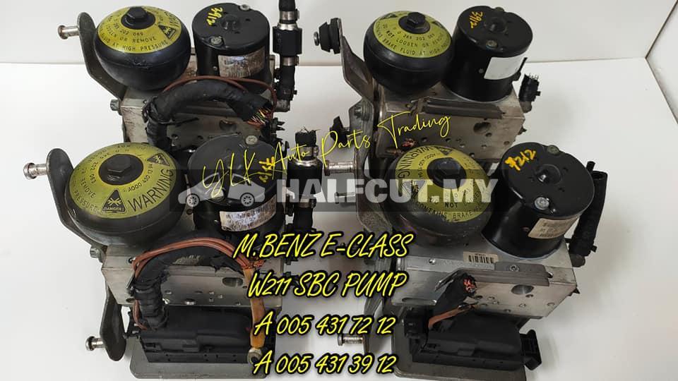 MERCEDES BENZ E-CLASS W211 SBC ABS PUMP NEW ARRIVE
