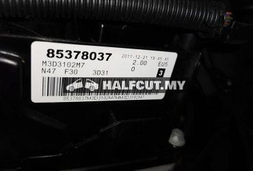 Bmw F30 N47 2.0 diesel turbo engine set electric absorber 1 set