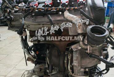 AUDI A4 B8 1.8 CDH ENGINE COMPLETE NGB