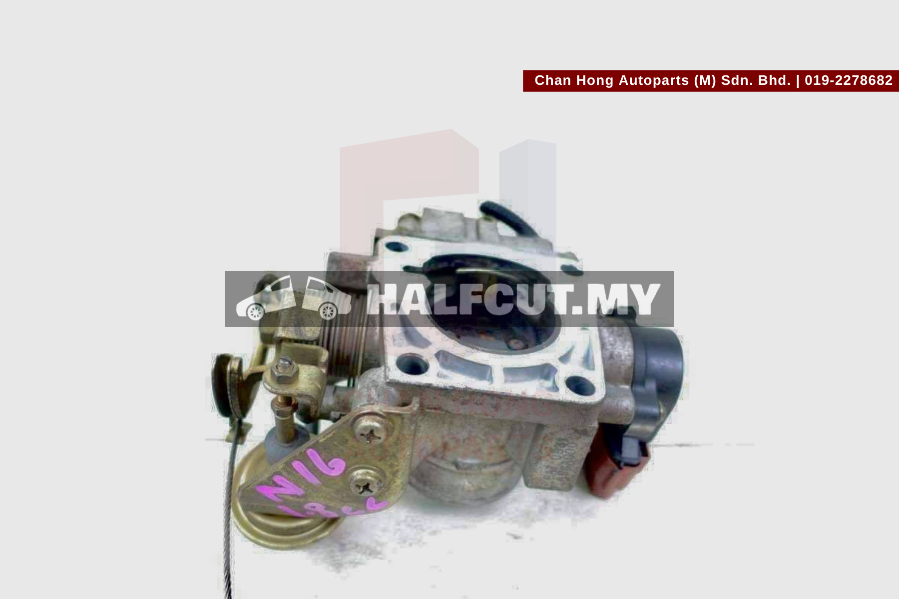 Nissan N16 1.8cc Throttle Body