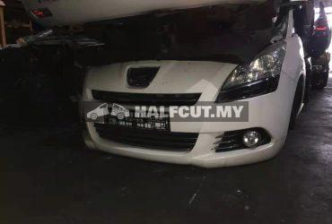 PEUGEOT 5008 1.6CC AUTO TURBO 6 SPEED FRONT CUT AND REAR CUT