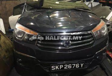 SSANGYONG STAVIC (671 960) FRONT CUT AND REAR CUT