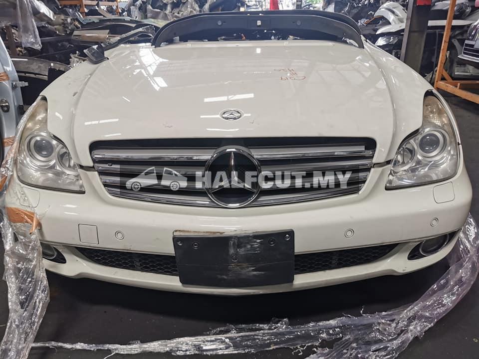 Mercedes Benz w219 350 half cut