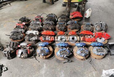 brake caliper disc brake 18z 19z 20z amgA45 bmw f30 f20 m sport