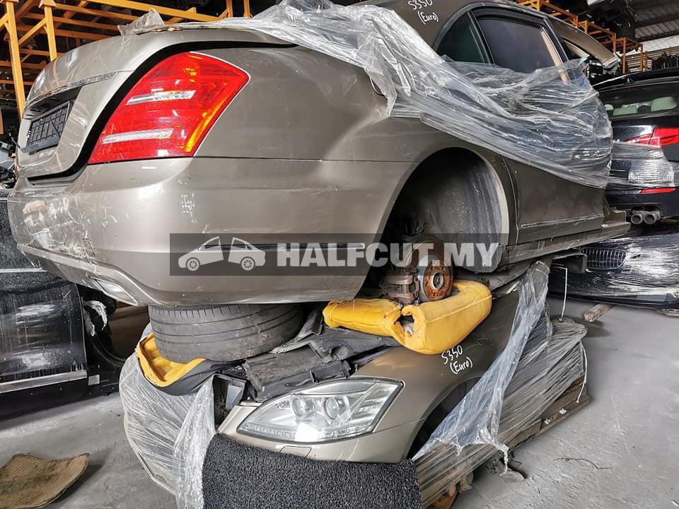 MERCEDES BENZ w221 S350 facelift half cut