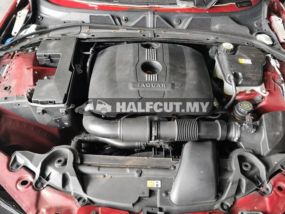 Jaguar XE 2014 2.0 petrol turbo half cut
