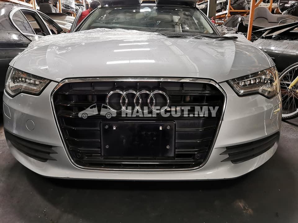 Audi A6 C7 hybrid half cut