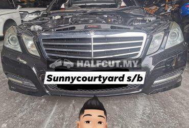 Mercedes Benz w212 E250cgi half cut
