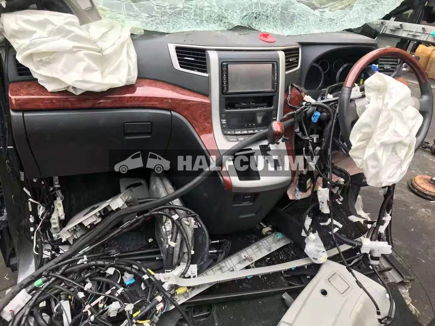 VELLFIRE ANH20 2.4 AUTO 2WD FRONT CUT