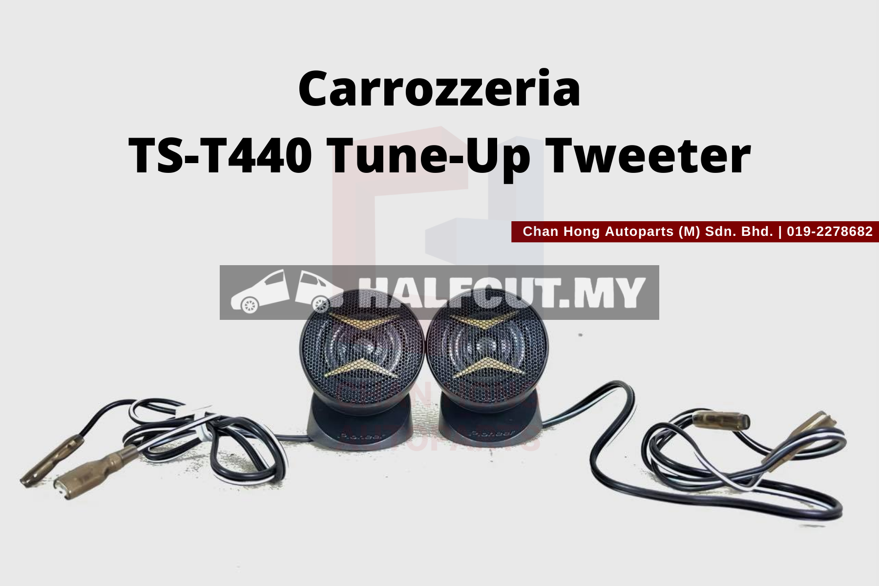 Carrozzeria TS-T440 Tune-Up Tweeter