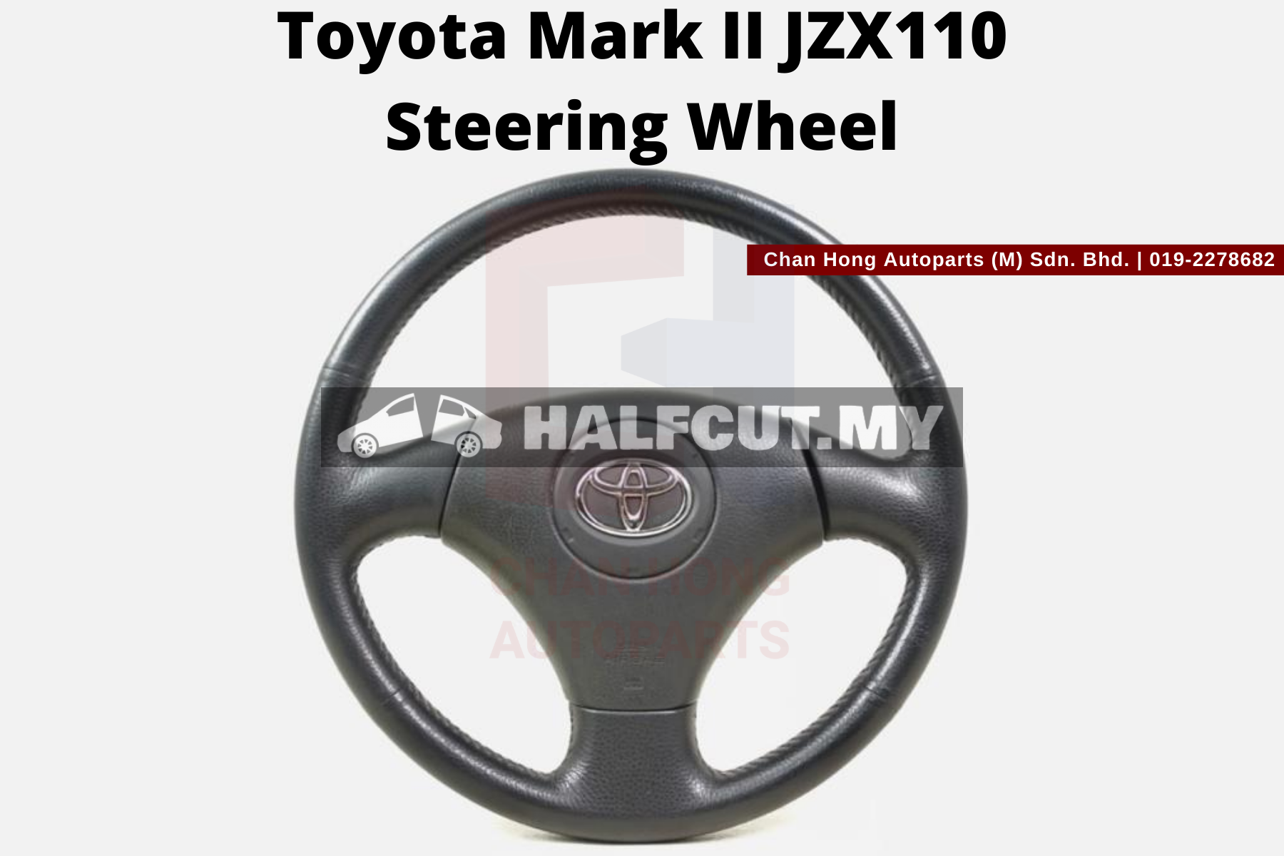 Toyota Mark II JZX110 Steering Wheel