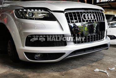 Audi Q7 3.0 v6 petrol supercharged half cut