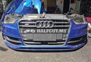 Audi S3 2015 nose cut,bonnet, fender,rear bumper,side skirt