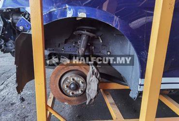Mustang 2.3 turbo half cut